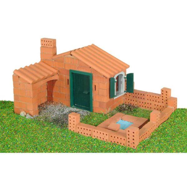 قوالب طوب البناء المنزل 3 خطط بناء من تيفوك