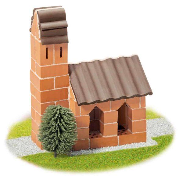 قوالب طوب بناء الكنيسة من تيفوك