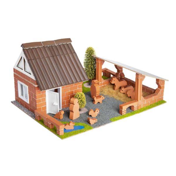 قوالب طوب لبناء المزرعة
