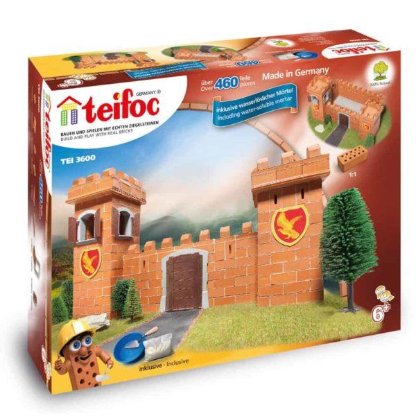 قوالب طوب بناء قلعة الفارس من تيفوك
