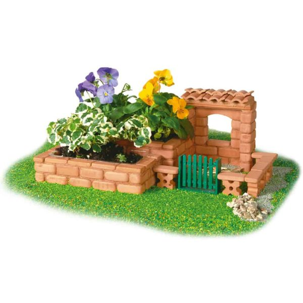 قوالب طوب بناء حديقة صغيرة من تيفوك