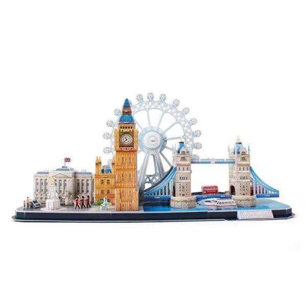 بازل ثلاثي الابعاد على شكل مدينة لندن من كيوبك فن
