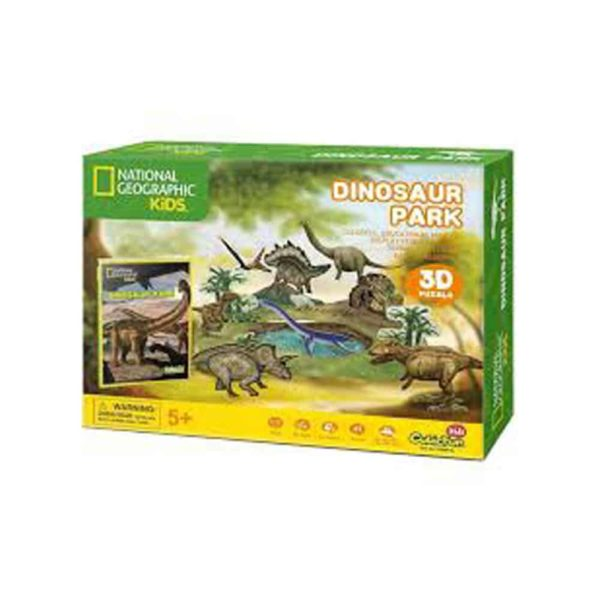 dinosaur park (43 pcs) by cubic fun