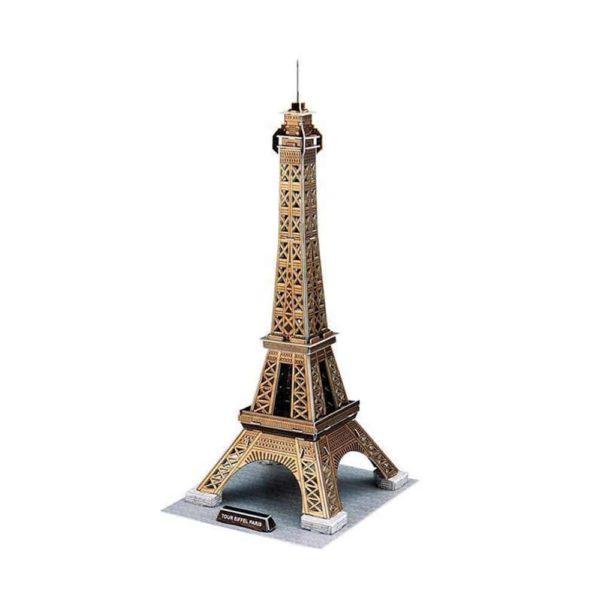 بازل ثلاثي الابعاد على شكل برج ايفل (39 قطعة) من كيوبك فن