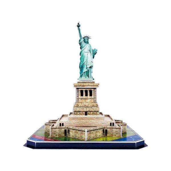 بازل ثلاثي الابعاد على شكل ستاند الحرية (39قطعة) من كيوبك فن