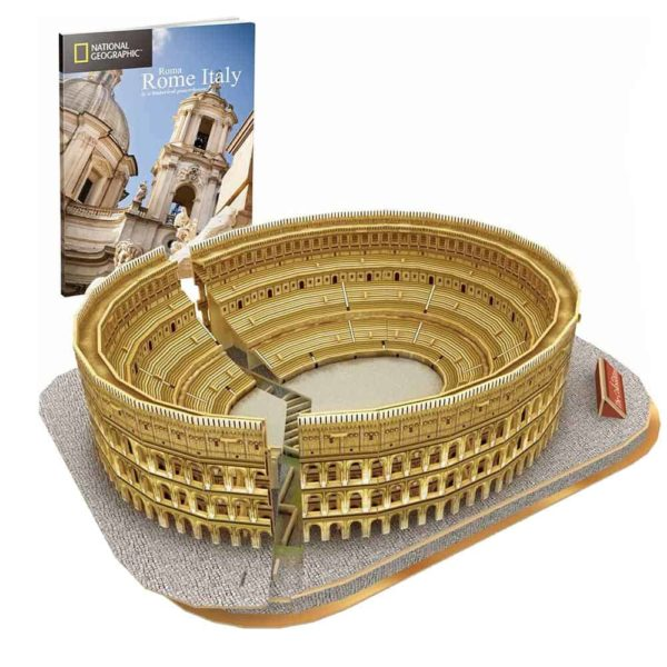 the colosseum (131 pcs) by cubic fun