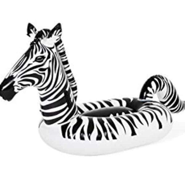 bestway's lights 'n stripes zebra float (254cm x 142cm)