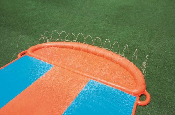 bestway's h2ogo! aqua ramp triple slide (549cm)
