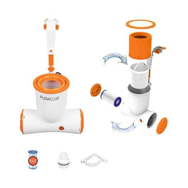 bestway's flowclear 680gal skimatic filter pump