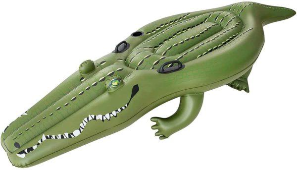bestway's croc funday jumbo floatie (259cm x 104cm)