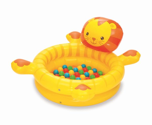 بيست واي – حمام سباحة على شكل اسد + 50 كرة (111سم*98سم*61.5سم)