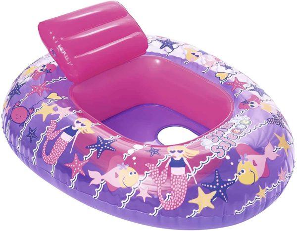 bestway's swim safe baby water craft step a (76cm x 65cm)