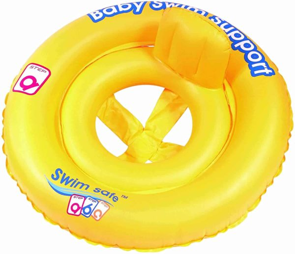 bestway's swim safe double ring baby seat step a (69cm)