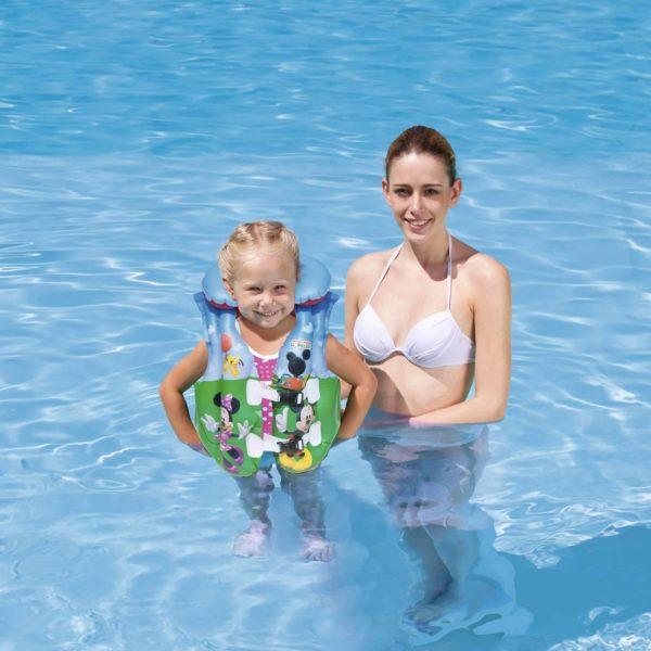 """بيست واي – سترة سباحة """"ميكي ماوس رايد"""" (51سم * 46سم)"""