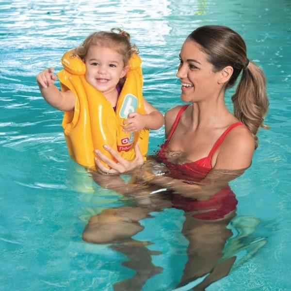 """بيست واي – سترة سباحة """"فيشر برايس"""" للأطفال مستوى متوسط (51سم * 46سم)"""