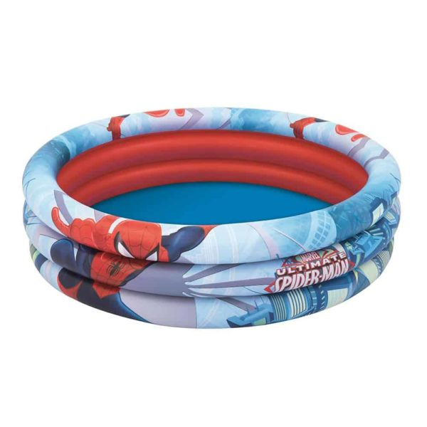 Bestway's Spider-Man 3-Ring Pool (122cm x 30cm)