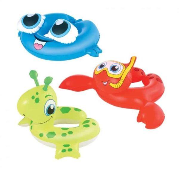 bestway's sea creature swim rings