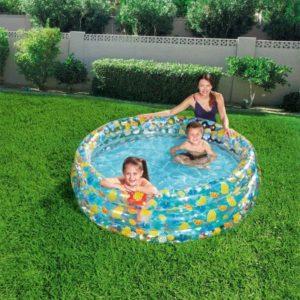 بيسين شفاف للاطفال من بيست واي (170 سم × 53 سم)