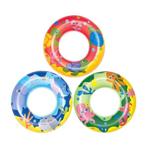 bestway's sea adventures swim rings (51cm)
