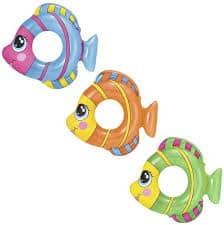 bestway's friendly fish swim rings (81cm x 76cm)