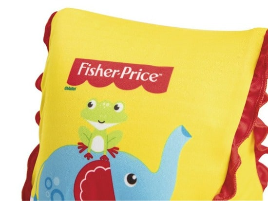 bestway's fisher-price fabric arm floats