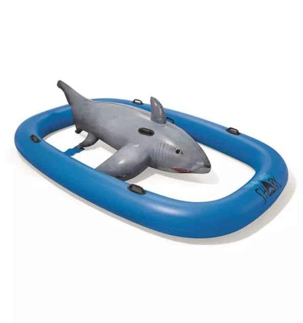 bestway's tidal wave shark ride (310cm x 213cm)
