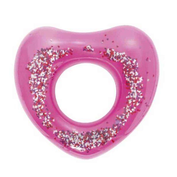 bestway's glitter fusion swim ring (91cm)