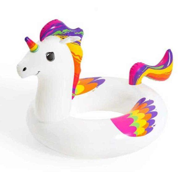 bestway's fantasy unicorn swim ring (119cm x 91cm)