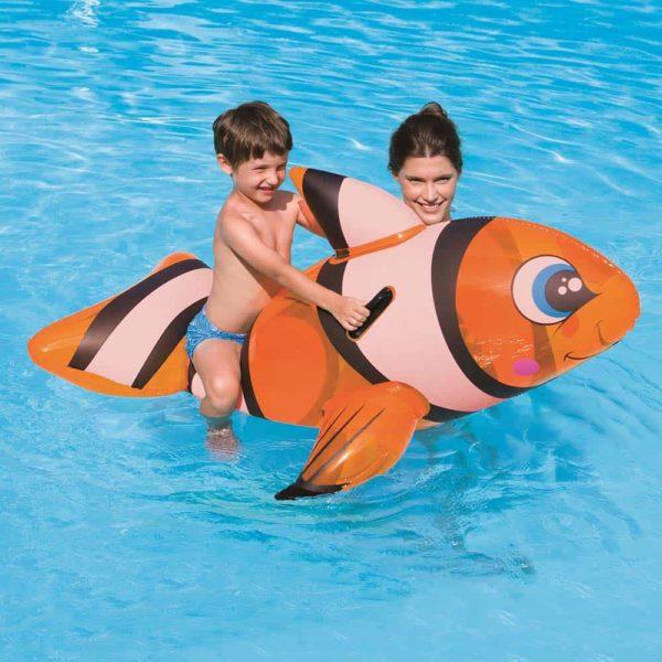 عوامة ركوب للأطفال سمكة نيمو من بيست واي