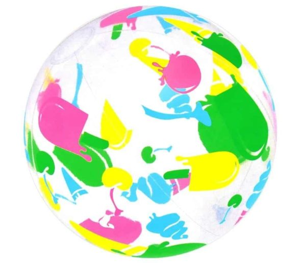 bestway's designer beach ball (51cm)