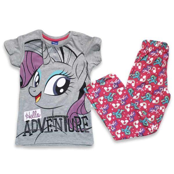 disney unicorn pajama pink