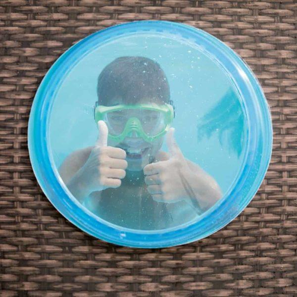 بيست واي – طقم حمام سباحة باور ستيل سويم فيستا بيضاوي 427سم*250سم*100سم