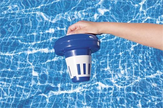 بيست واي – حاوية كلور وبرومين لحمامات السباحة من فلو كلير 16.5سم