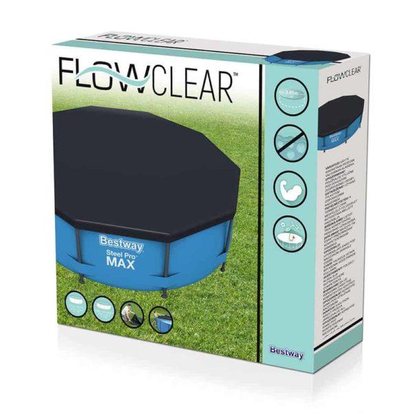 بيست واي - غطاء لحمام السباحة فلو كلير 305سم