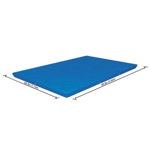 بيست واي – غطاء لحمام السباحة فلو كلير 259سم*170سم