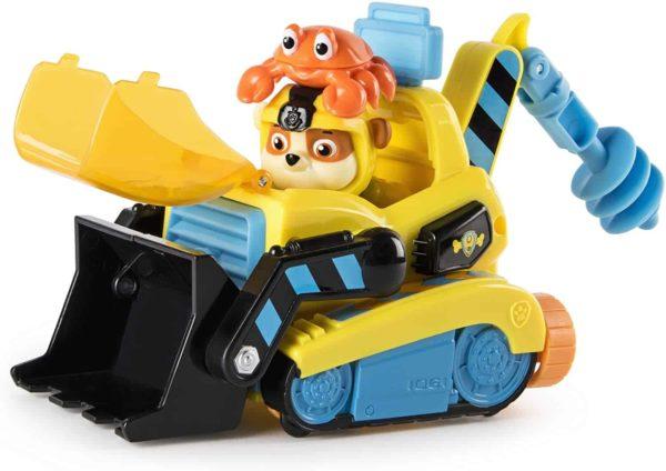paw patrol sea patrol – rubble's transforming vehicle and crab sea friend