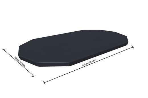 بيست واي – غطاء لحمام السباحة فلو كلير 427سم*250سم*100سم