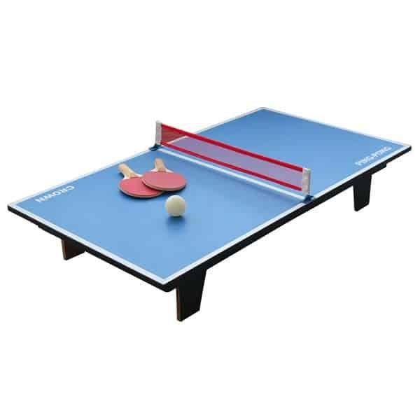 كراون – طاولة بينج بونج بأرجل متوسطة 7001 مقاس (63سم*38سم*16سم)