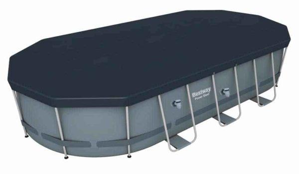 bestway's power steel oval pool set (549cm x 274cm x 122cm)