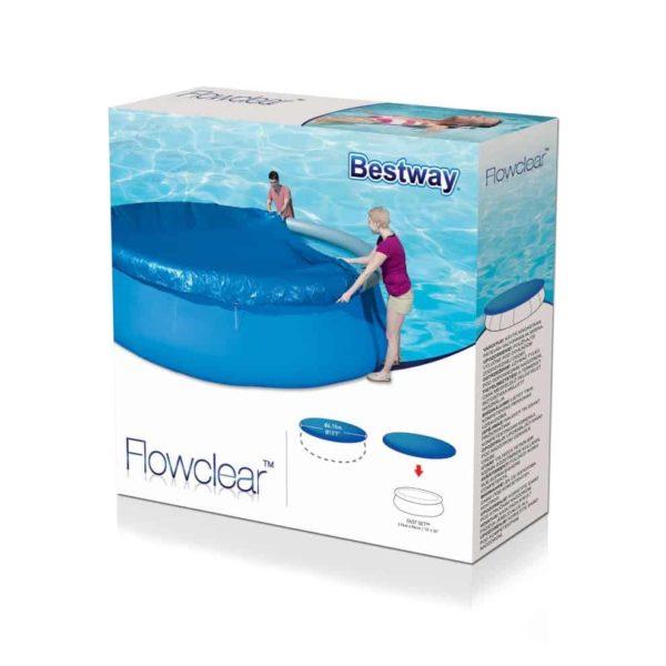 بيست واي – غطاء لحمام السباحة فلو كلير 396سم