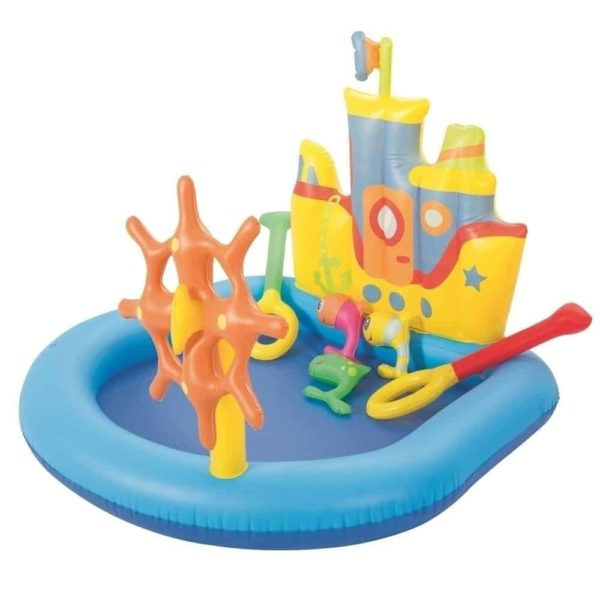 بيست واي – حمام سباحة على شكل قارب 140سم*130سم*104سم