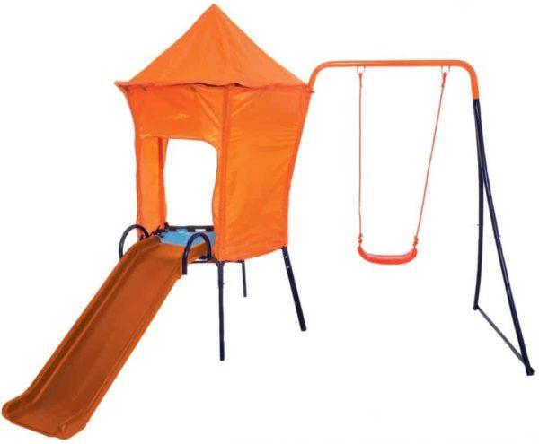 hedstrom orion multiplay swing & slide set