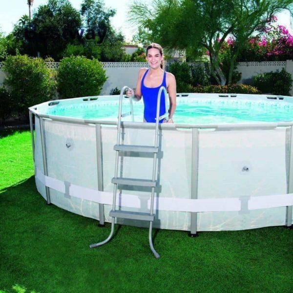 بيست واي – سلم لحمام السباحة فلو كلير 107سم