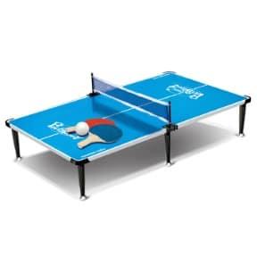 كراون – طاولة بينج بونج بأرجل متوسطة d7003 مقاس (110سم*60سم*16سم)