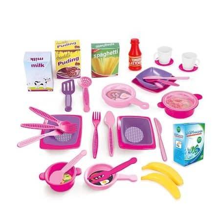 triple kitchen set unicorn dolu