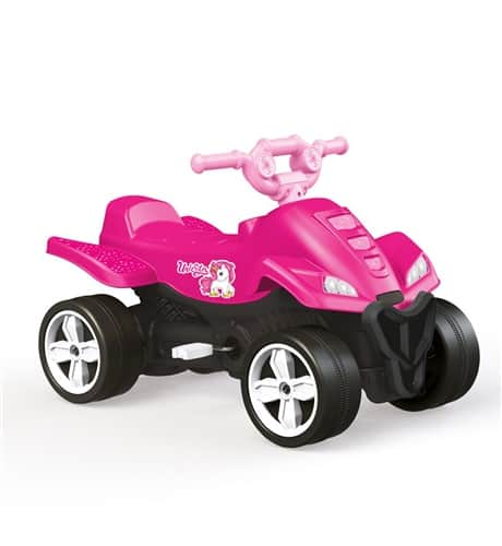 dolu unicorn kids pedal operated quad
