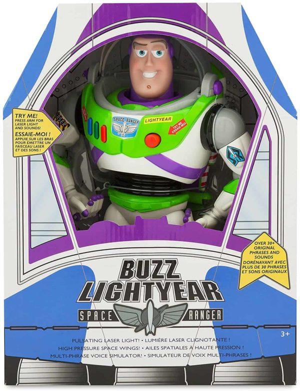 "buzz lightyear interactive talking action figure – 12"" woody interactive talking action figure – toy story – 15"""