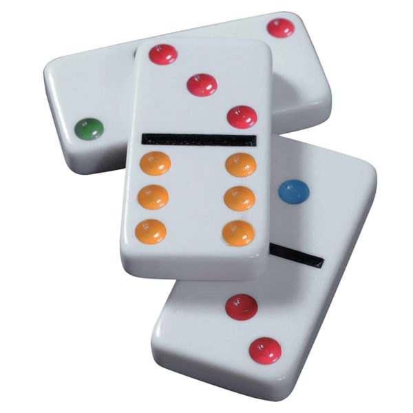 classic dominoes from spin master