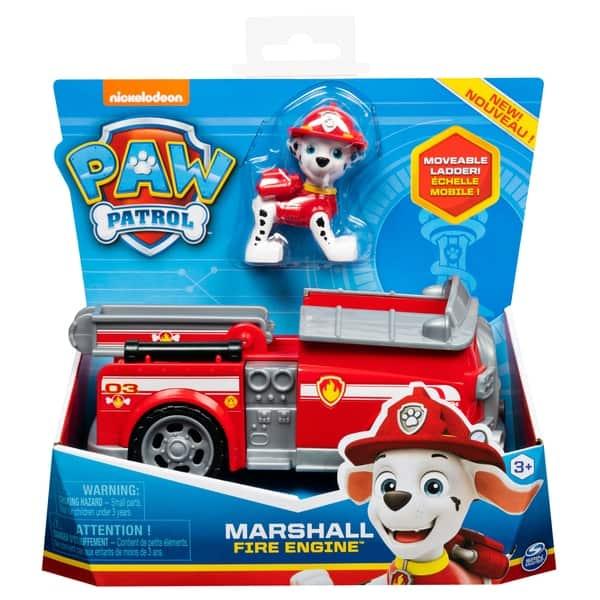 paw patrol marshall fire engine