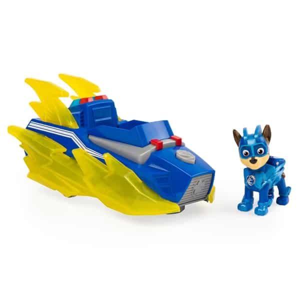 paw patrol charged up vehicle – chase